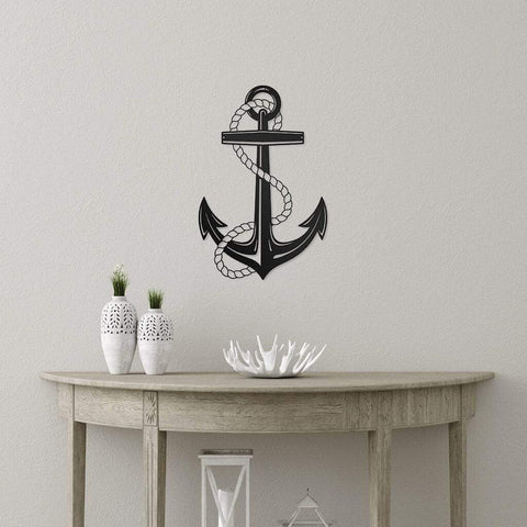 Nautical Anchor - Redline Steel