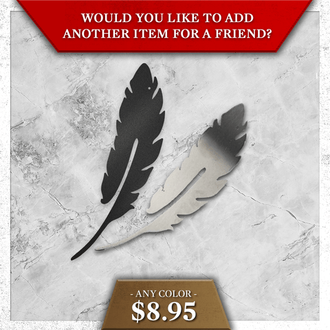 Feather - Single (Special Offer) - Redline Steel
