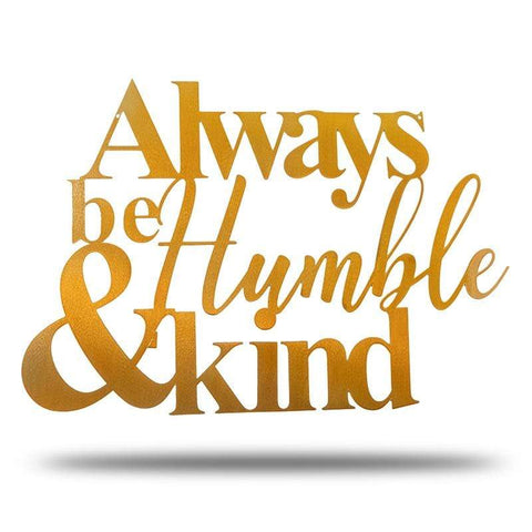 Humble and Kind