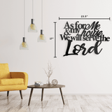 Serve the Lord - Quote
