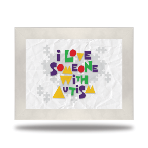 Autism Awareness (Canvas) - Redline Steel
