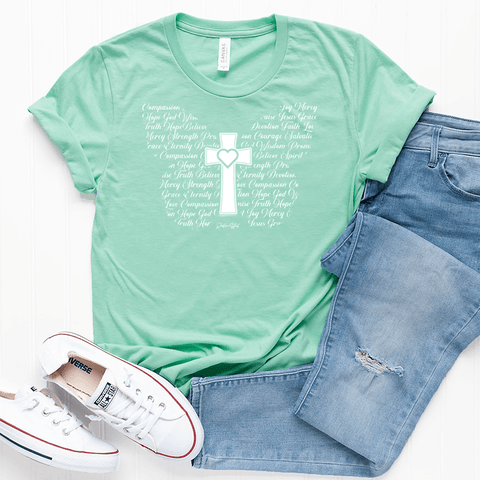 Butterfly Cross T-Shirt