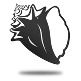 Conch Shell - Redline Steel