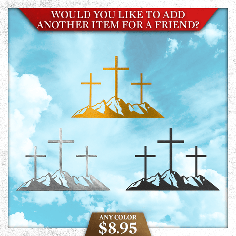 Crosses on a Hill (Special Offer)