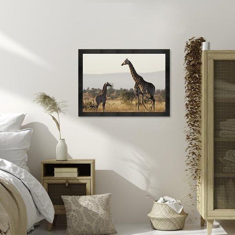 Giraffe (Canvas) - Redline Steel