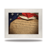 The Declaration of Independence - Redline Steel