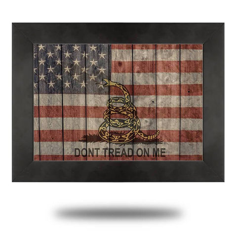 Don't Tread On Me (Canvas) - Redline Steel