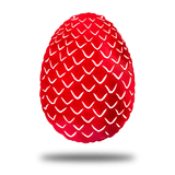 Dragon Egg - Redline Steel