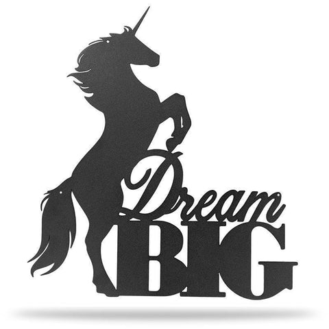Dream Big Unicorn - Redline Steel