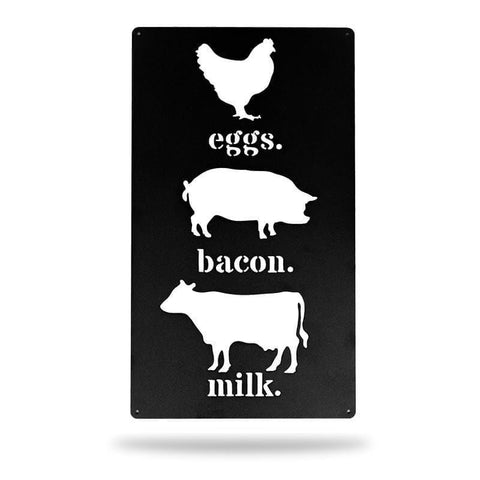 Eggs, Bacon, Milk - Redline Steel