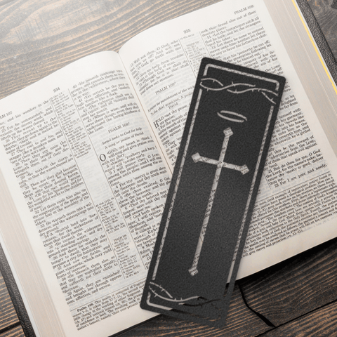 Faith Steel Bookmark
