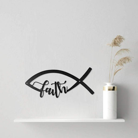 Faith Fish - Redline Steel