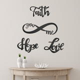 Love + Faith + Hope (Infinity Funnel - Promotion) - Redline Steel