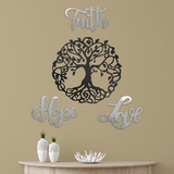 Love + Faith + Hope (Tree Funnel - Promotion) - Redline Steel