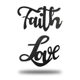 LOVE + FAITH - Redline Steel