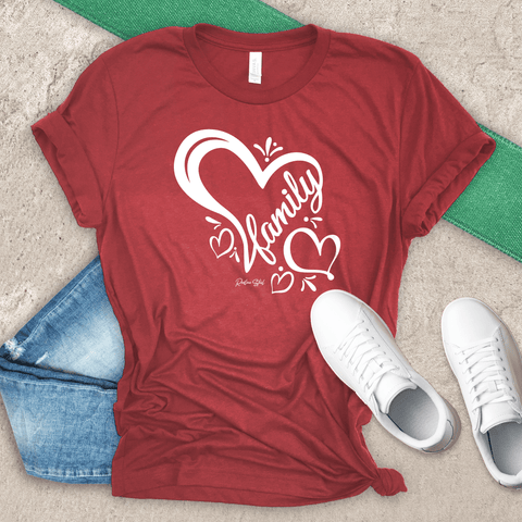 Family Heart T-Shirt