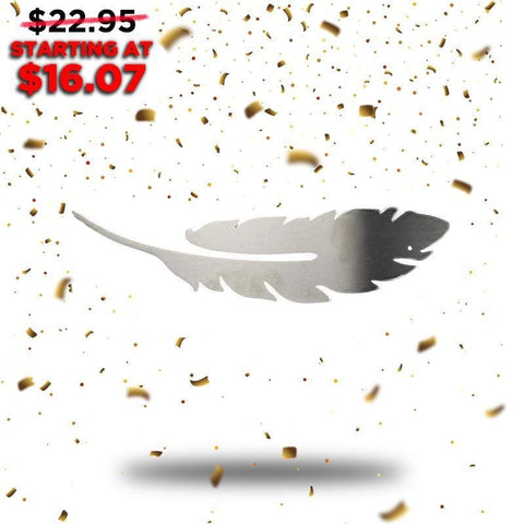 Feather - Single (New Years Blowout Collection) - Redline Steel