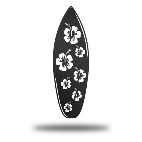Hawaiian Surfboard (Promotion - Black Matte) - Redline Steel