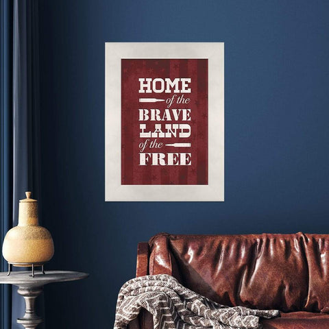 Home of the Brave - Redline Steel