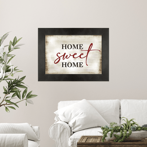 Home Sweet Home (Canvas) - Redline Steel