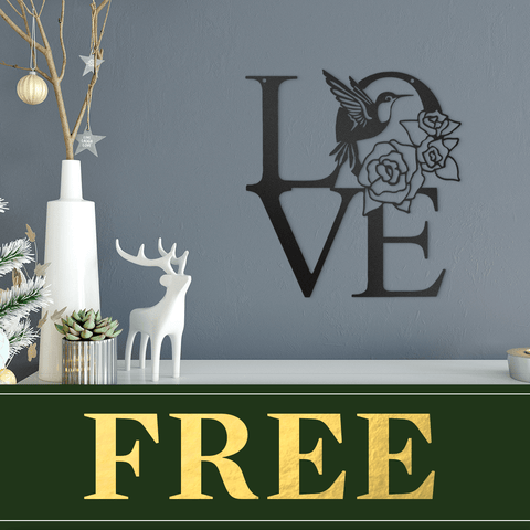 Hummingbird Love (Promotional Offer)