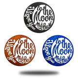 Moon and Back VARIETY Bundle (Set of 3) - Redline Steel