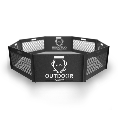 Outdoor Camper Fire Pit