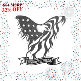 In God We Trust Eagle - Black Matte (Promotion) - Redline Steel