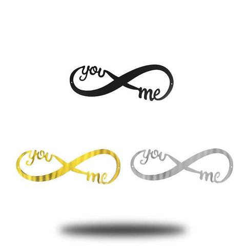"18"" Infinity Sign (Promotion) - Bundle Set of all 3 colors - Redline Steel"