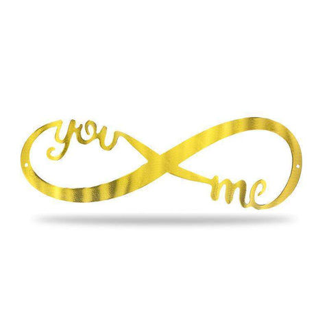 Infinity Sign (Promotion) - GOLD - Redline Steel