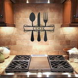 Kitchen Monogram - Redline Steel