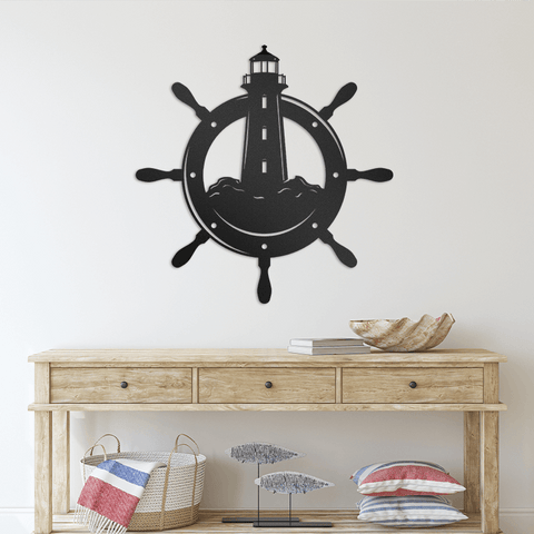 Nautical Lighthouse - Redline Steel