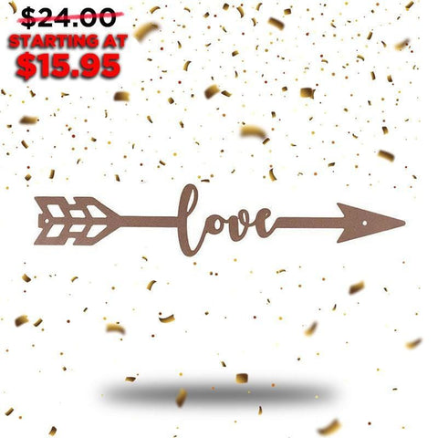 Love Arrow (New Years Blowout Collection) - Redline Steel