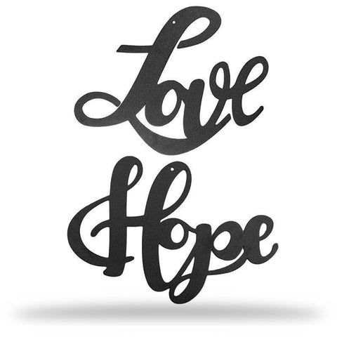 LOVE + HOPE - Redline Steel