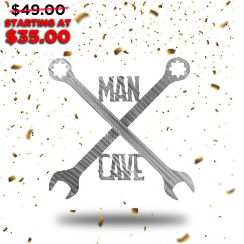 Man Cave (New Years Blowout Collection) - Redline Steel