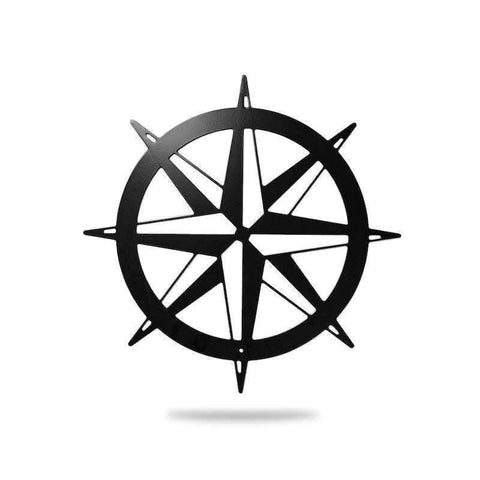 Nautical Compass - Redline Steel