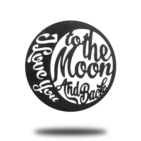 Moon and Back BLACK Bundle (Set of 5) - Redline Steel