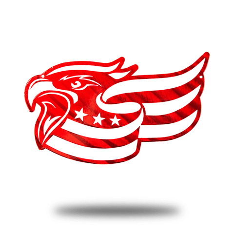 Patriotic Eagle - Redline Steel