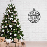 Ornament Monogram - Redline Steel