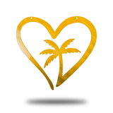 Palm Tree Heart (Funnel - Promotion) - Redline Steel
