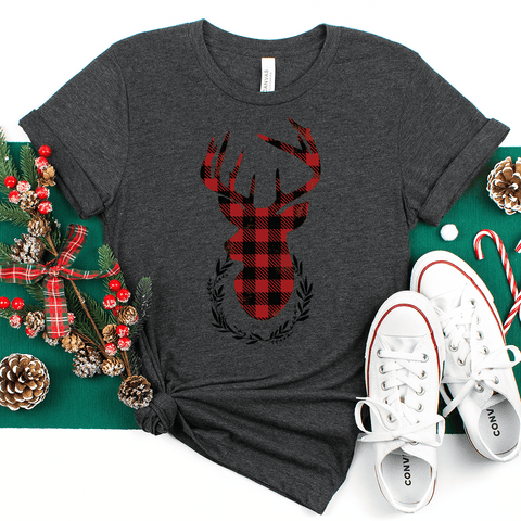 Holiday Deer T-Shirt (Short-Sleeve)