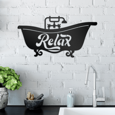 Bathtub Relax - Redline Steel
