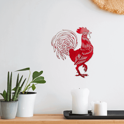 Rooster (Steel)