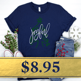 Joyful Christmas T-Shirt - Promotion