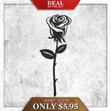 Single Rose (Deal of the Day) - Redline Steel