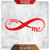 Infinity Sign (Deal of the Week) - Redline Steel
