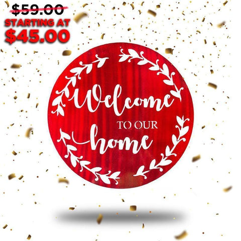 Welcome Home (New Years Blowout Collection) - Redline Steel