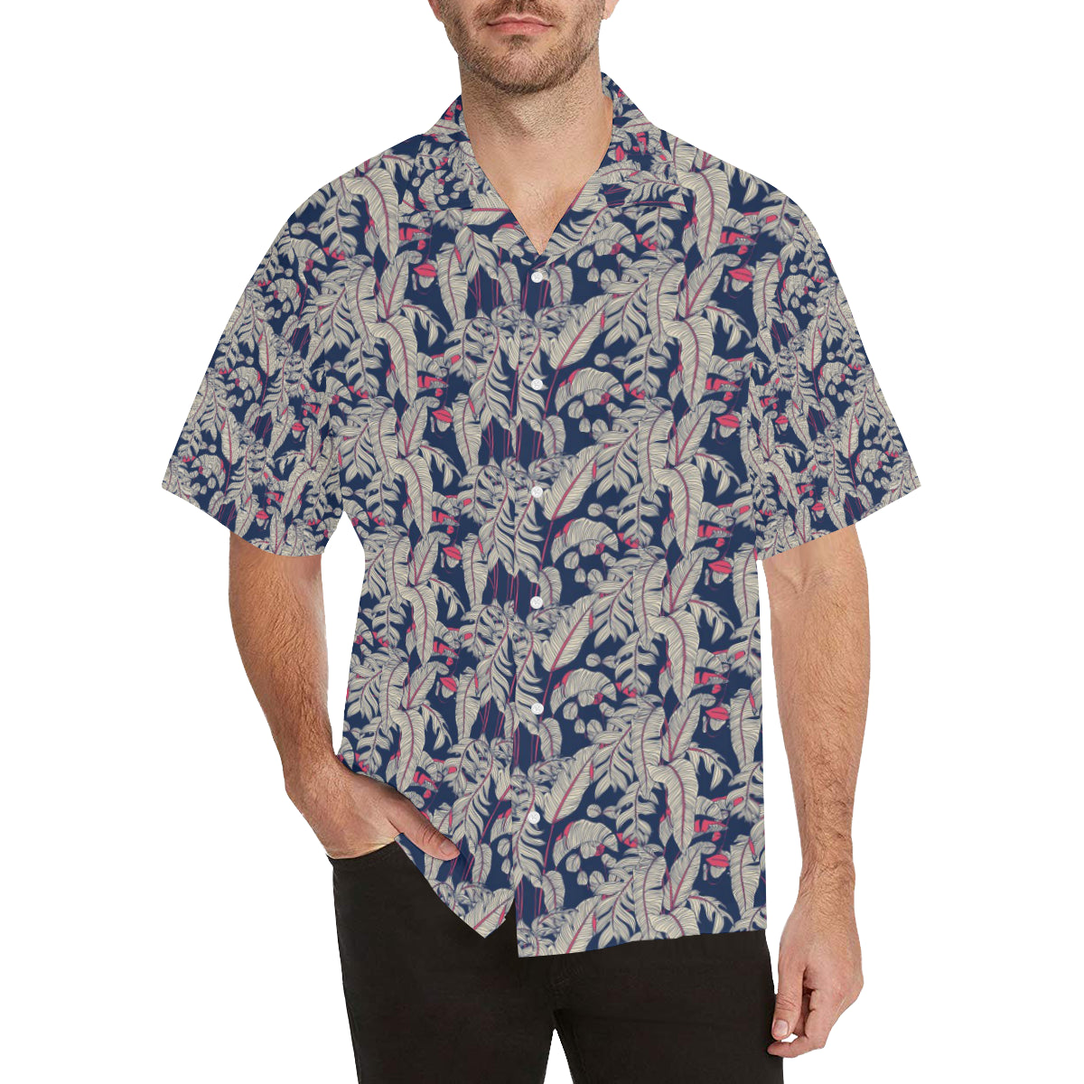 Bird Of Paradise Pattern Print Design 03 Hawaiian Shirt