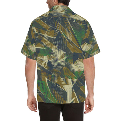 Military Camouflage Pattern Print Design 01 Hawaiian Shirt