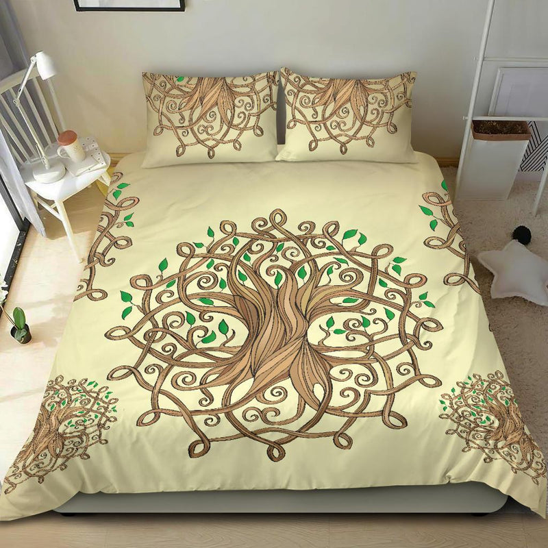 Celtic Tree of life Duvet Cover Bedding Set